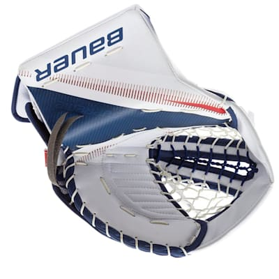 Front View (Bauer Supreme 2S Pro Goalie Catch Glove - Senior)