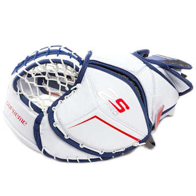 Backhand View (Bauer Supreme 2S Pro Goalie Catch Glove - Senior)