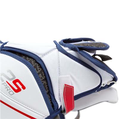 Wrist Strap View (Bauer Supreme 2S Pro Goalie Catch Glove - Senior)