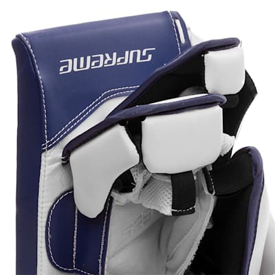 (Bauer Supreme S29 Goalie Blocker - Intermediate)