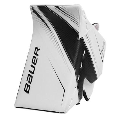 White/Black (Bauer Supreme S29 Goalie Blocker - Senior)