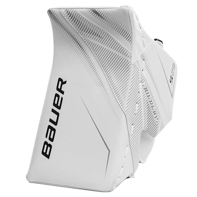 White/White (Bauer Supreme S29 Goalie Blocker - Senior)