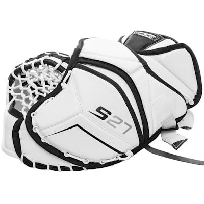 (Bauer Supreme S27 Goalie Catch Glove - Junior)