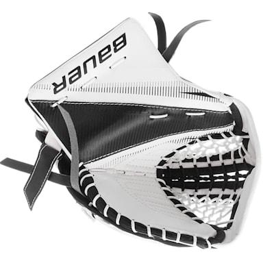 White/Black (Bauer Supreme S27 Goalie Catch Glove - Junior)