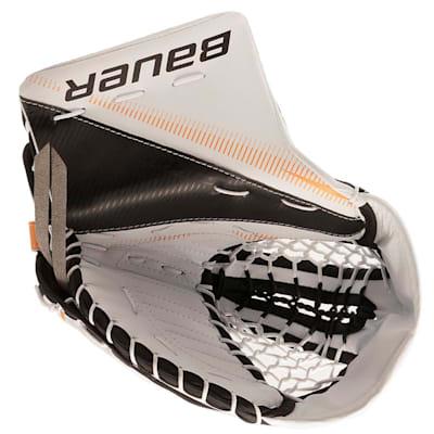 White/Black/Gold (Bauer Supreme S27 Catch Glove - Junior)