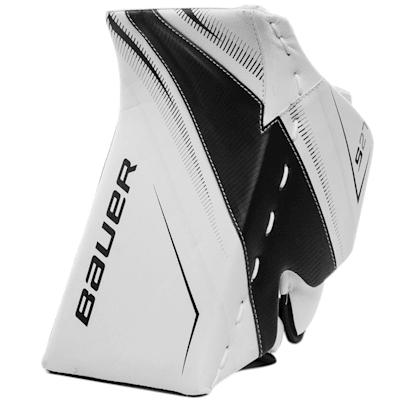 White/Black (Bauer Supreme S27 Goalie Blocker - Junior)