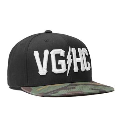 VGHC Snapback BlackCamo (Violent Gentlemen Hockey Club Snapback - Black/Camo - Adult)