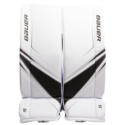 White/Black (Bauer Supreme S27 Goalie Leg Pads - Senior)