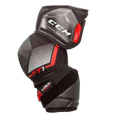 (CCM JetSpeed FT1 Hockey Elbow Pads - Junior)