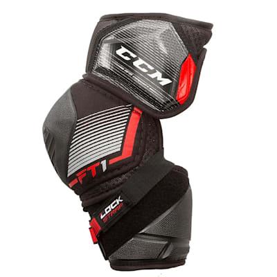 (CCM JetSpeed FT1 Hockey Elbow Pads - Senior)