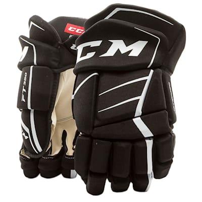 (CCM JetSpeed FT350 Hockey Gloves - Junior)