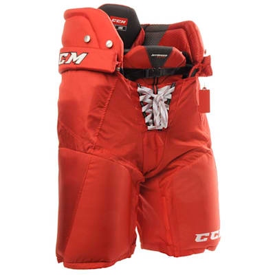 Red (CCM JetSpeed FT390 Hockey Pants - Senior)