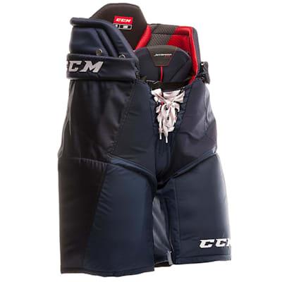 Navy (CCM JetSpeed FT1 Hockey Pants - Junior)