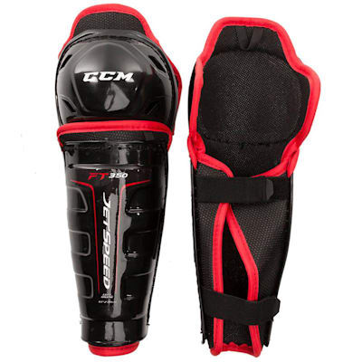 (CCM JetSpeed FT350 Youth Hockey Shin Guards - Youth)