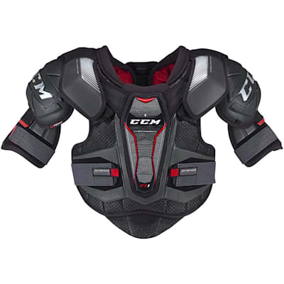 Front (CCM JetSpeed FT1 Hockey Shoulder Pads - Senior)