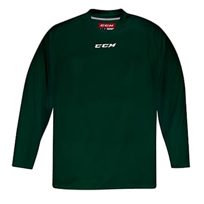 Front (CCM 5000 Practice Jersey - Dark Green - Junior)