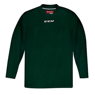 Front (CCM 5000 Practice Jersey - Dark Green - Senior)