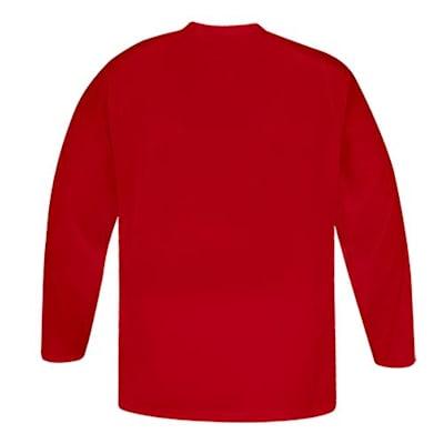 Back (CCM 5000 Practice Jersey - Red - Junior)