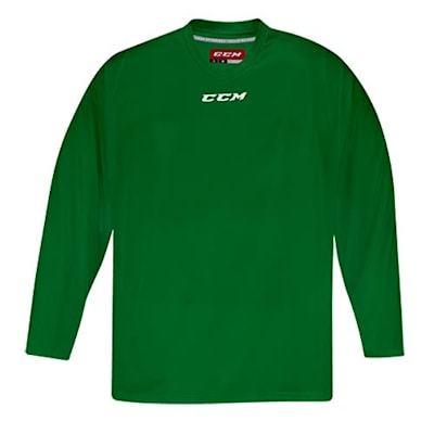 Front (CCM 5000 Practice Jersey - Kelly Green - Junior)