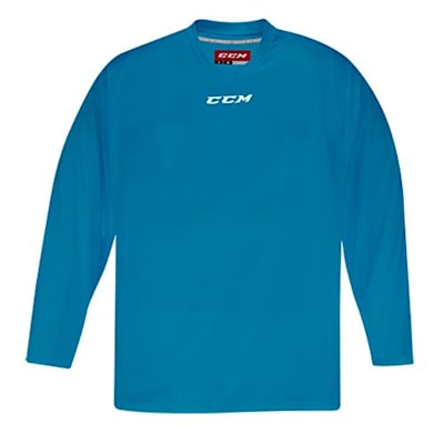Front (CCM 5000 Practice Jersey - Turquoise - Senior)