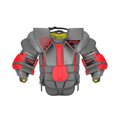 Front (Warrior Ritual G4 Pro Goalie Chest and Arm Protector - Senior)