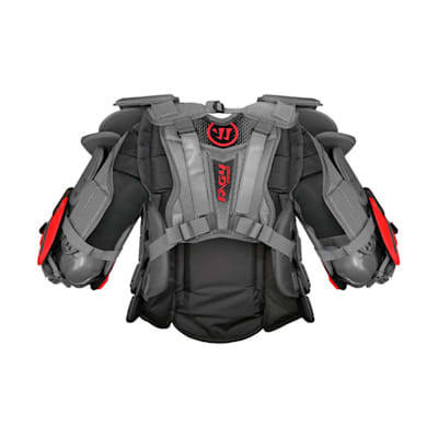 Back (Warrior Ritual G4 Pro Goalie Chest and Arm Protector - Senior)