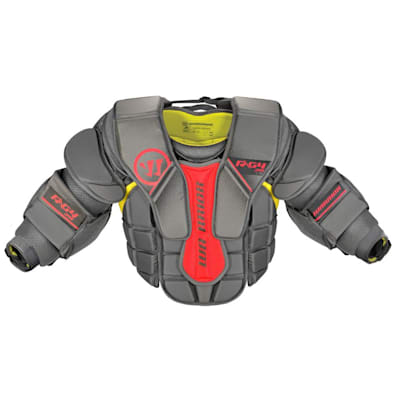 Front (Warrior Ritual G4 Goalie Chest and Arm Protector - Junior)