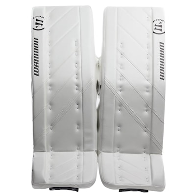 White/White (Warrior Ritual G4 Goalie Leg Pads - Senior)