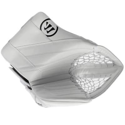 White/White (Warrior Ritual G4 Goalie Catch Glove - Senior)