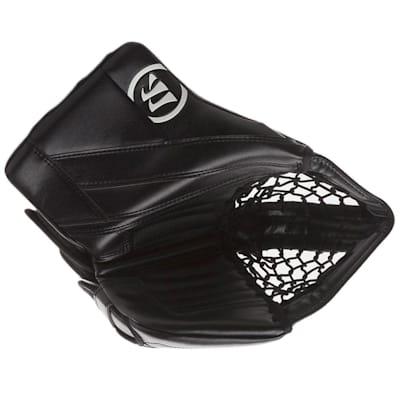 Black/Black (Warrior Ritual G4 Goalie Catch Glove - Senior)