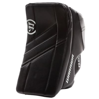 Black/Black (Warrior Ritual G4 Goalie Blocker - Junior)