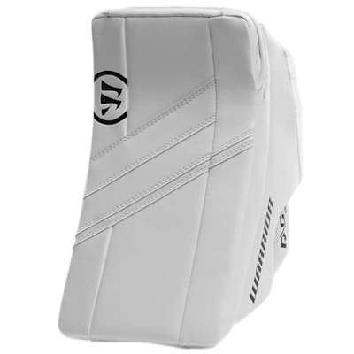 White/White (Warrior Ritual G4 Goalie Blocker - Intermediate)