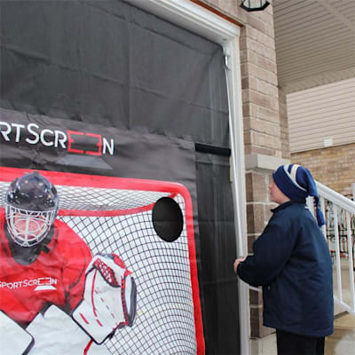 Target with Velcro (The SportScreen 10FT Manual Screen w/ Target)