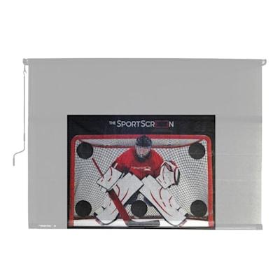Target on Screen (The SportScreen Hockey Target)