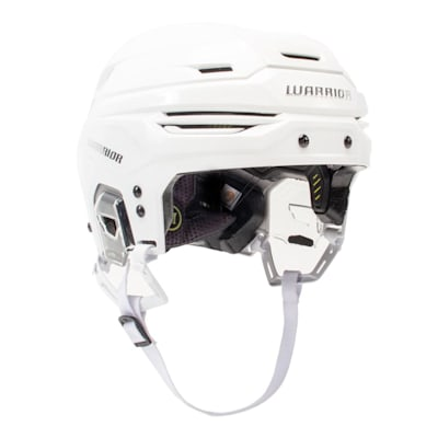White (Warrior Alpha One Hockey Helmet)