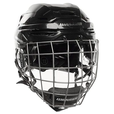 Black (Warrior Alpha One Combo Hockey Helmet)