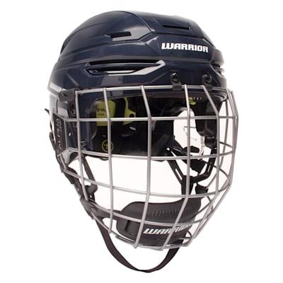 Navy (Warrior Alpha One Pro Combo Hockey Helmet)