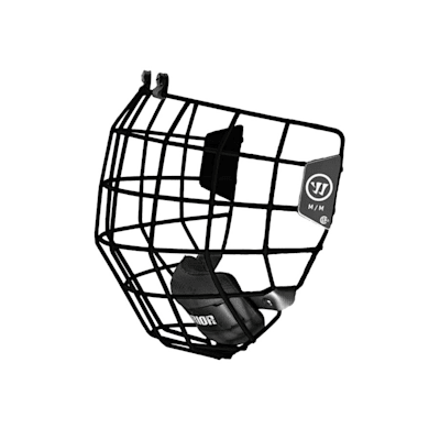 Black (Warrior Alpha One Facemask)