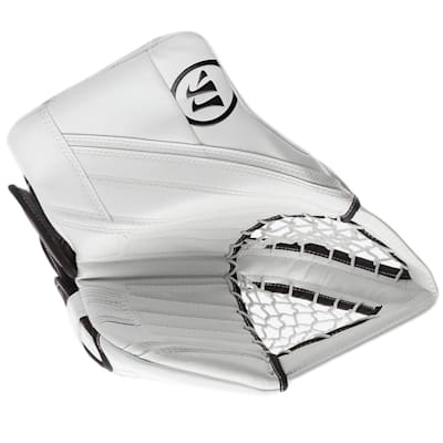 White/White (Warrior Ritual G4 Pro Goalie Catch Glove - Senior)