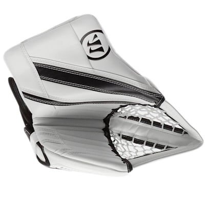 White/Black (Warrior Ritual G4 Pro Goalie Catch Glove - Senior)