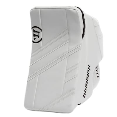 White/White (Warrior Ritual G4 Pro Goalie Blocker - Senior)
