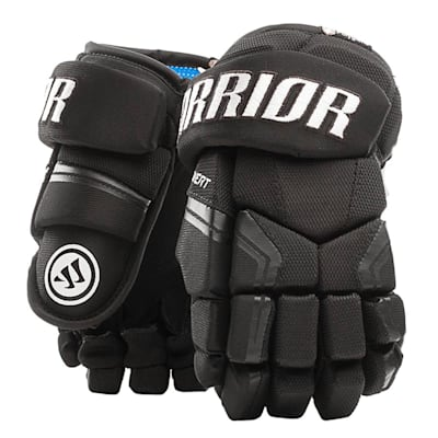 Black (Warrior Covert QR Edge Youth Hockey Gloves - Youth)