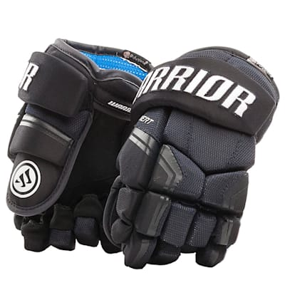 Navy (Warrior Covert QR Edge Youth Hockey Gloves - Youth)