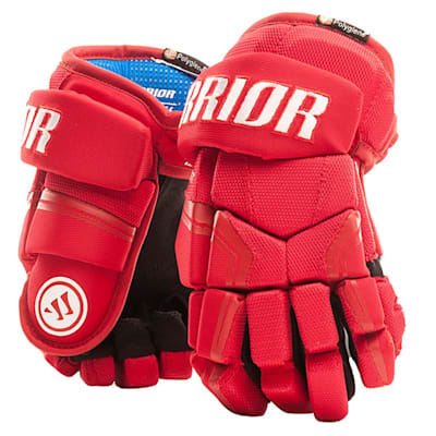 Red (Warrior Covert QR Edge Youth Hockey Gloves - Youth)