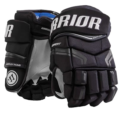 Navy (Warrior Covert QRE Pro Hockey Gloves - Junior)