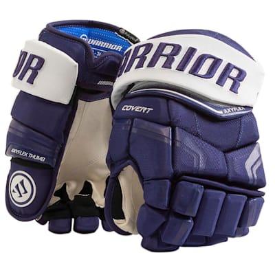 Royal/White (Warrior Covert QRE Pro Hockey Gloves - Senior)