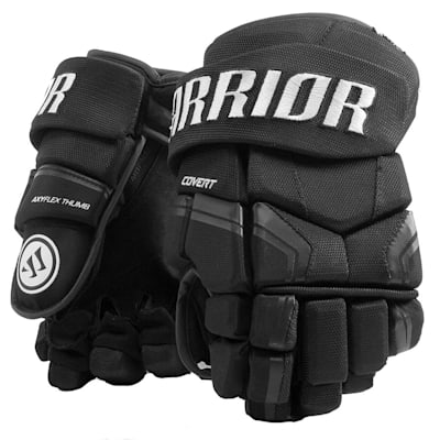 Black (Warrior Covert QRE3 Hockey Gloves - Junior)