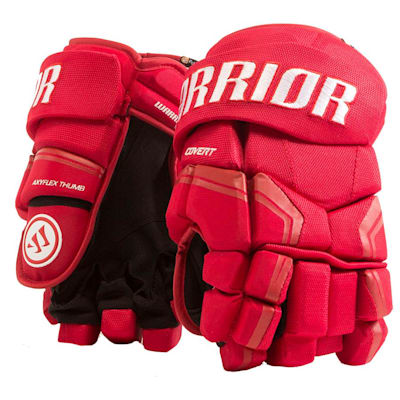 Red (Warrior Covert QRE3 Hockey Gloves - Junior)
