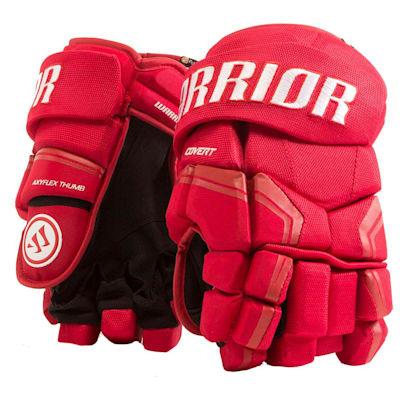 Red (Warrior Covert QRE3 Hockey Gloves - Senior)