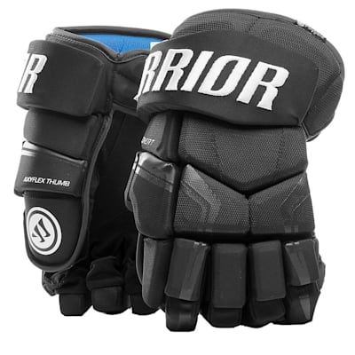 Black (Warrior Covert QRE4 Hockey Gloves - Junior)